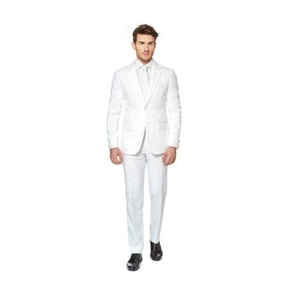 OppoSuits Men's White Knight Suit