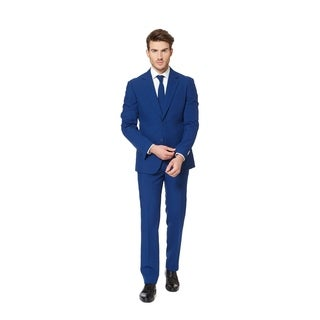 OppoSuits Men's Navy Royale Suit