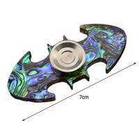 Colorful Adult Children Hand Spinner Toys Bat Shape Focus Desk Toy ADHD Anti Stress Toy