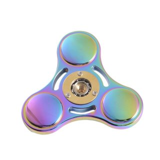 Colorful Professional Fidget Aluminum Metal Hand Spinner For ADHD Stress Out Autism