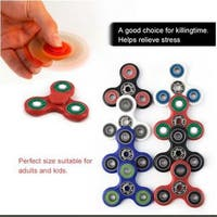 Red 8 Kinds of Color Toy Hand Spinner Fingertip Toys Long Rotation Time Toys
