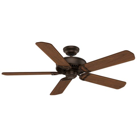 "Casablanca 54"" Panama Ceiling Fan with Wall Control - Brushed Cocoa"