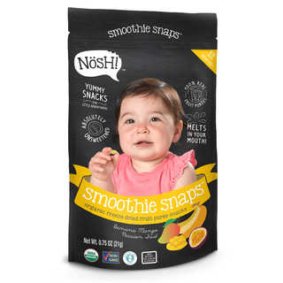 Nosh Smoothie Snaps 0.75-ounce Banana Mango Passion