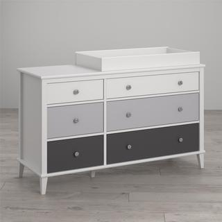 Little Seeds Monarch Hill Poppy 6-Drawer Changing Table