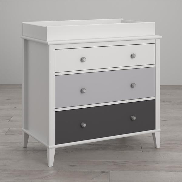 Little Seeds Monarch Hill Poppy 3-Drawer Changing Table - N/A. Opens flyout.