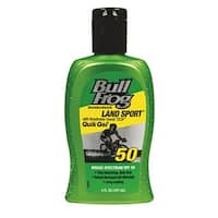 Bull Frog Sunscreen Land Sport with Breathable Sweat TECH 5-ounce Quik Gel SPF 50