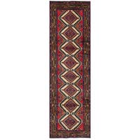 ECarpetGallery Hand-Knotted Koliai Brown, Ivory  Wool Rug (2'7 x 9'4)