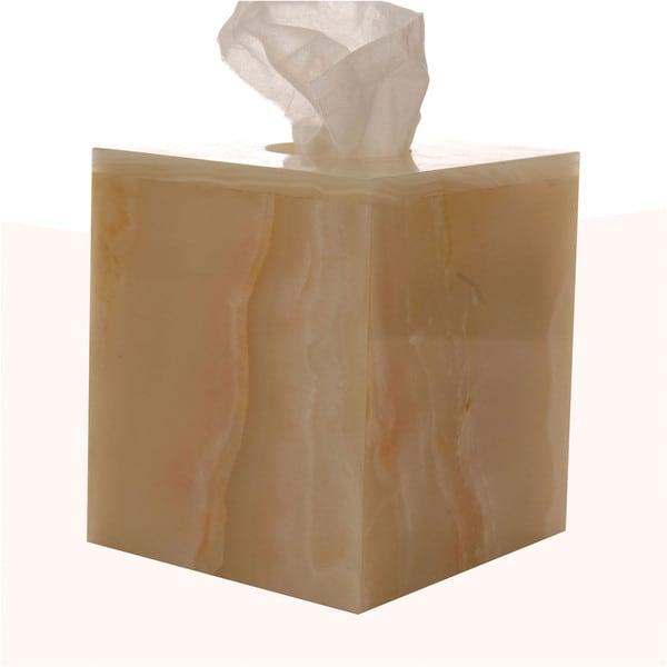 Rembrandt Home Pale Green Tissue Box Cover