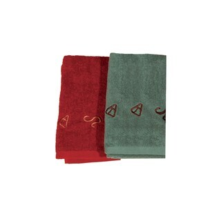 Hiend Accents Embroidered Brand 3-Piece Towel Set