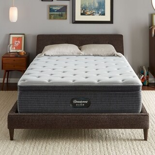 Beautyrest Silver Maddyn Pillow Top Luxury 14-inch Full-size Firm Mattress + Bonus Sleep Tracker