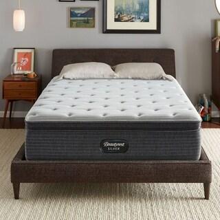 beautyrest silver maddyn 14inch queensize pillowtop luxury firm mattress