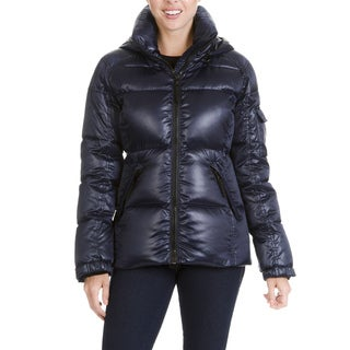 S13 New York Women's Quilted Hooded Jacket