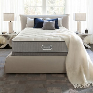 Simmons Beautyrest Silver Maddyn Luxury Firm 12-inch Twin-size Mattress Set