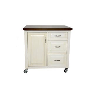 2.25 ft X 3 ft Kitchen Cart in 2 Finishes by Sunset Trading (Option: Beige)|https://ak1.ostkcdn.com/images/products/17002845/P23284559.jpg?impolicy=medium