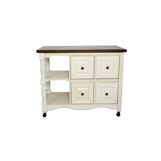 2 ft X 3.5 ft Four Drawer Kitchen Cart in 5 Finishes by Sunset Trading (Option: Beige)|https://ak1.ostkcdn.com/images/products/17002846/P23284560.jpg?_ostk_perf_=percv&impolicy=medium