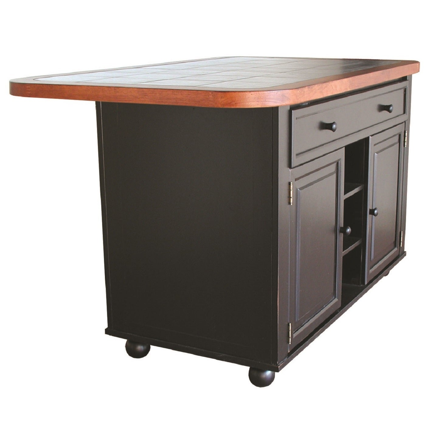 Charmant Gracewood Hollow Golden 3 Ft. X 5 Ft. Kitchen Island In 3 Finishes