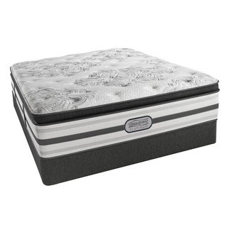 Beautyrest Platinum Angelica Plush Pillow Top 14.5-inch Queen-size Mattress Set