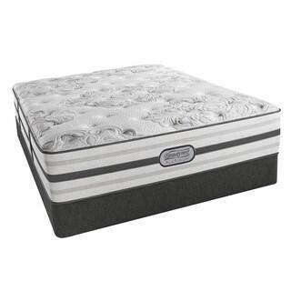 Beautyrest Platinum Avery Plush Pillow Top 14-inch King-size Mattress Set