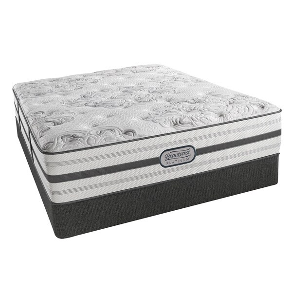 Shop Beautyrest Platinum Avery Plush Pillow Top 14 Inch Full Size