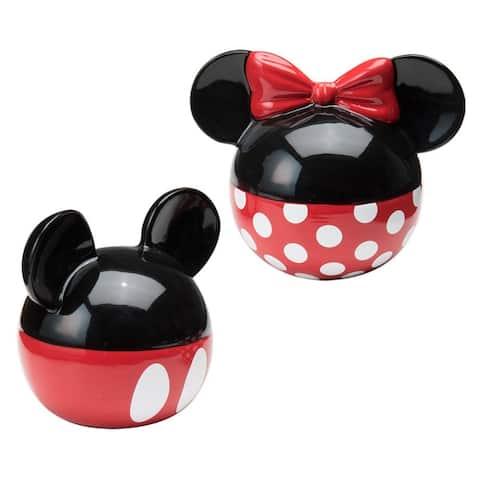 Mickey & Minnie Mouse Salt & Pepper Shaker Set
