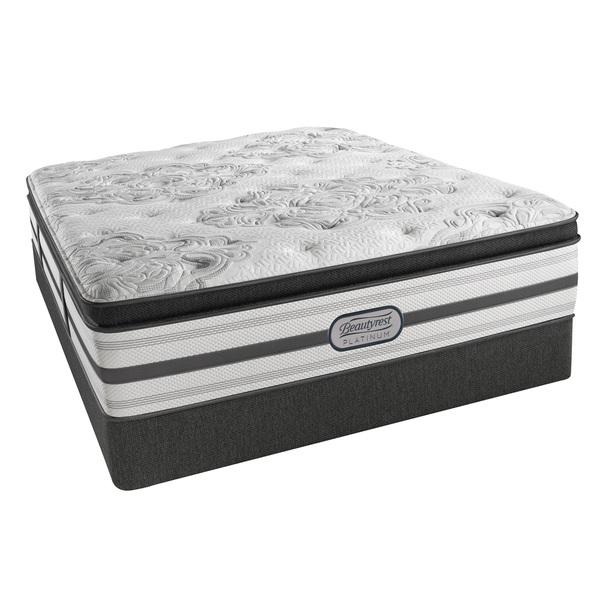 Beautyrest Platinum Angelica Plush Pillow Top Full-size Mattress