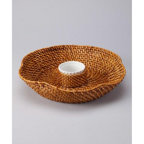 Caribbean Chip'n Dip Basket
