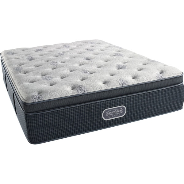 Beautyrest Silver Discovery Bay Plush Pillow Top California King-size Mattress