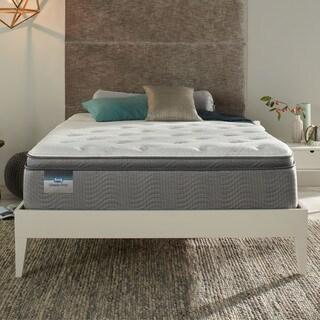 Simmons Beautysleep Coral Reef Luxury Firm Pillow Top 12.5-inch Twin-size Mattress Set