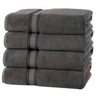 Quick Dry Zero Twist Cotton 4 pack Bath Towels