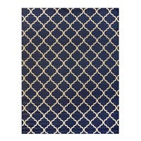 Studio by Brown Jordan Hastings Blue/Grain Area Rug by Gertmenian - 7'10 x 10'