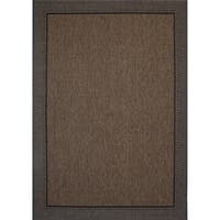 Studio by Brown Jordan Savannah Havava/Black Area Rug by Gertmenian (7'10'' x 10') - 7'10 x 10'