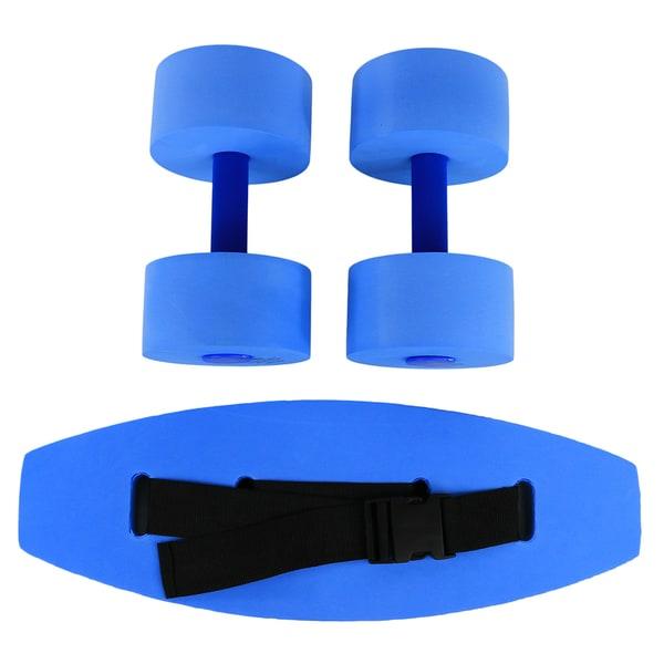CanDo® Aquatic Exercise Kit, (Jogger Belt, Hand Bars)