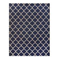 Studio by Brown Jordan Hastings Blue/Grain Area Rug by Gertmenian