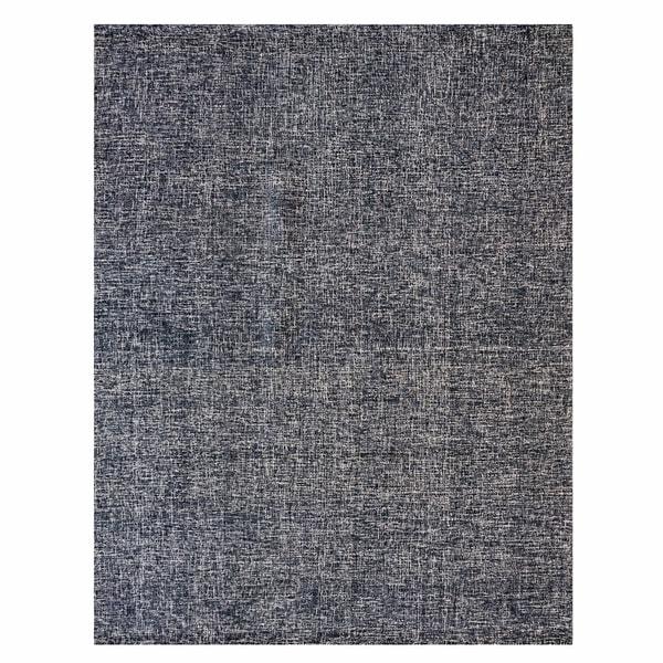 Gertmenian Avenue33 Midnight Blue Textured Wool Hand-tufted Rug - 8'x10'