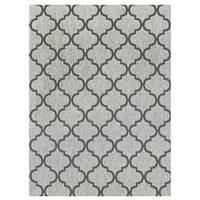 Studio by Brown Jordan Hastings Rope/Grey Area Rug by Gertmenian - 5'3 x 7'5