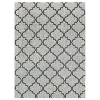 Gertmenian Studio by Brown Jordan Hastings Rope/Grey Area Rug (7'10 x 10')