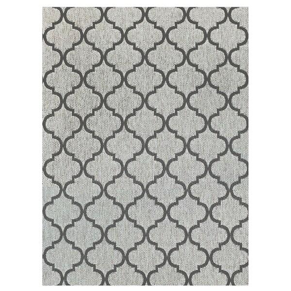 """Studio by Brown Jordan Hastings Rope/Grey Area Rug by Gertmenian (7'10"""" x 10') - 7'10 x 10'"""