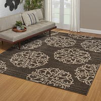Drexel Heritage LaScala Tasia Brown Area Rug by Gertmenian