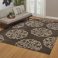 Drexel Heritage LaScala Tasia Brown Area Rug by Gertmenian - 7'10'' x 10'