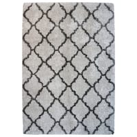 "Avenue33 Ultimate Ivory Tile Shag Rug by Gertmenian (9'5"" x 13'1')"