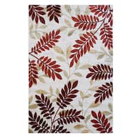 "Avenue33 Holland Indoor/Outdoor Ivory Area Rug by Gertmenian (5'3"" x 7')"
