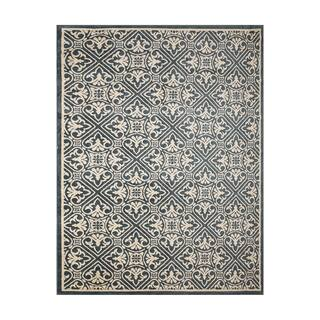 Avenue33 Castile Indoor/Outdoor Blue/Ivory Area Rug (5'3 x 7')|https://ak1.ostkcdn.com/images/products/17004305/P23285824.jpg?impolicy=medium