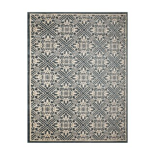 Avenue33 Castile Indoor/Outdoor Blue/Ivory Area Rug by Gertmenian - 5'3 x 7'