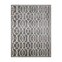 Avenue33 Bennett Indoor/Outdoor Charoal Grey Area Rug by Gertmenian - 5'3 x 7'