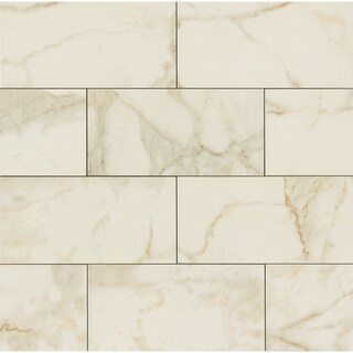 6x12 Field Tile Marmi Calacatta (Case of 20)
