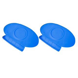 Summer Infant Tiny Diner 2 Portable Placemat, Blue, Twin Pack