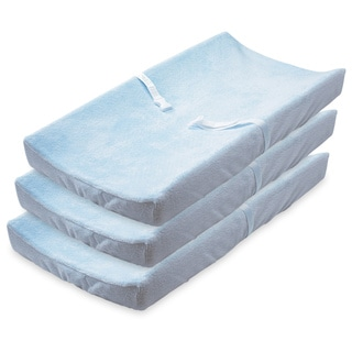 Summer Infant Ultra Plush Changing Pad Covers, 3 Pack, Blue