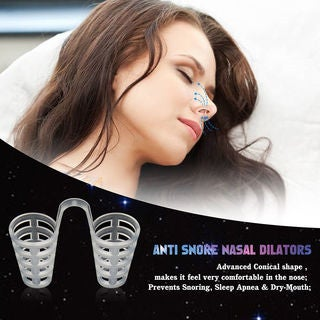 Snore Defense Anti-Snoring Nasal Vents (Pack of 4)