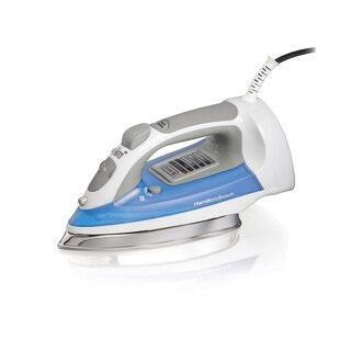 Hamilton Beach Electronic Iron with Stainless Steel Solepate