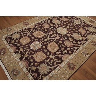 """Reversible Soumak Multi Color Hand Knotted Rug - 5'10"""" x 8'10"""""""